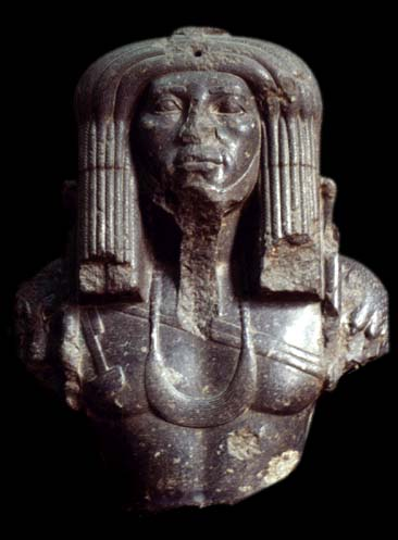 Amenemhet III,was the sixth Pharoah of Egypt's; 12th dynasty, who's reign was from  approx. 1860-1814 BC. Scultures of Amenemhet's likeness have been excavated & have shown Amenemhet III' without any of the various Egyptian crowns with what seems to clearly be dreadlocks.