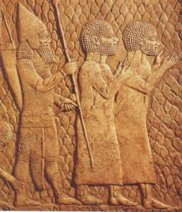 relief, 680 BCE Approx.