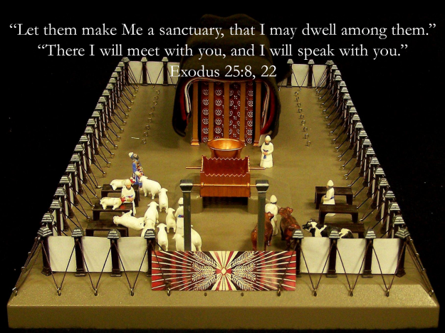 [Ex. 25: v8]And let them make me a sanctuary; that I may dwell among them.