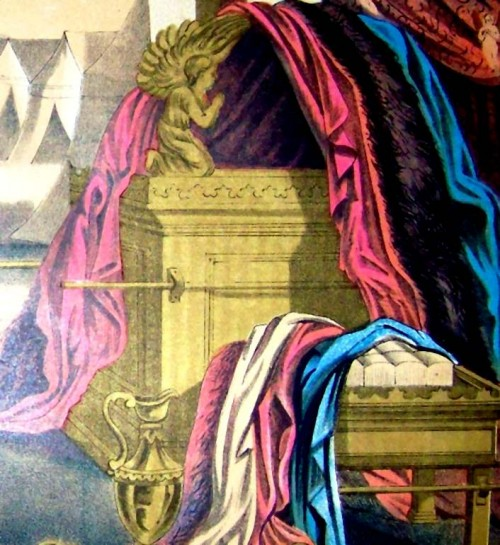 fine linen(purple-blue-scarlet)