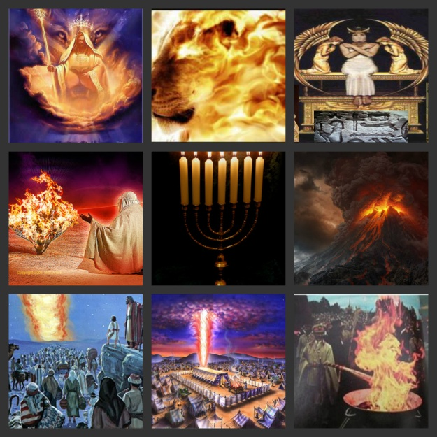 """[Hebrews 12: 29]""""...For our GOD is a consuming fire..."""""""
