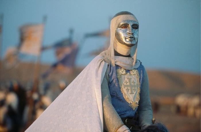 Baldwin IV, king of Jerusalem(1174-1185), played by Edward Norton in Kingdom of Heaven film.