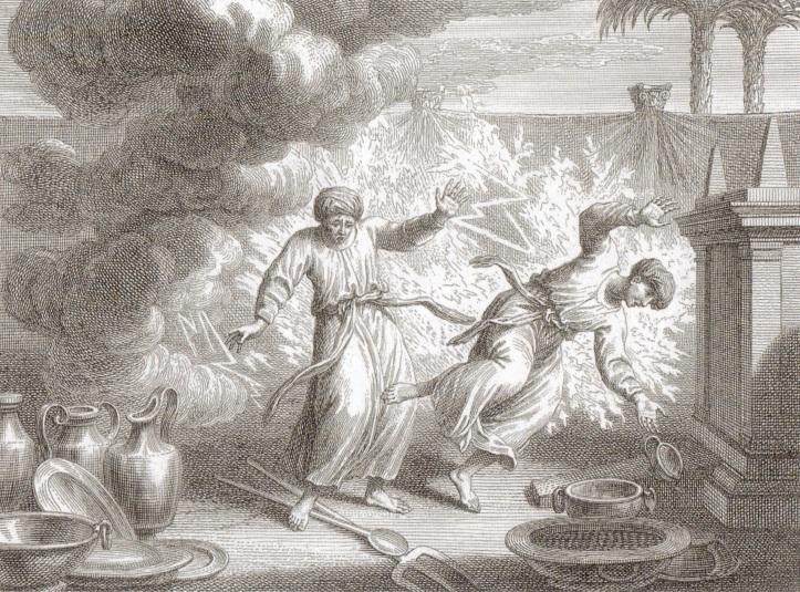 Nadab & Abihu, sons of Aaron