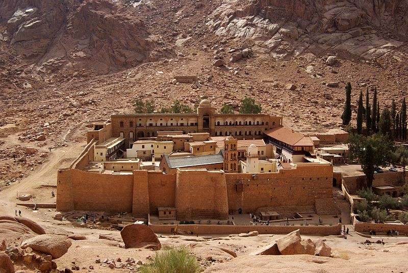 St. Catherine Monastery_Mt. Sinai, Egypt