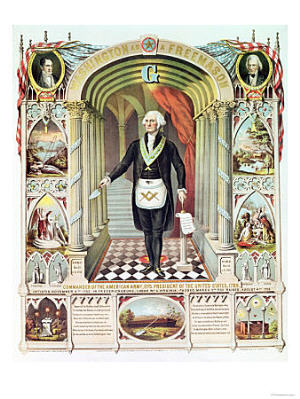 Washington-Freemason