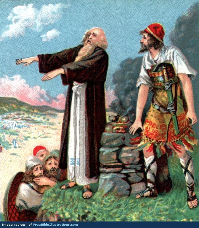 Balaam & Balak(king of Moab) [Numb. 22:2-25:9]