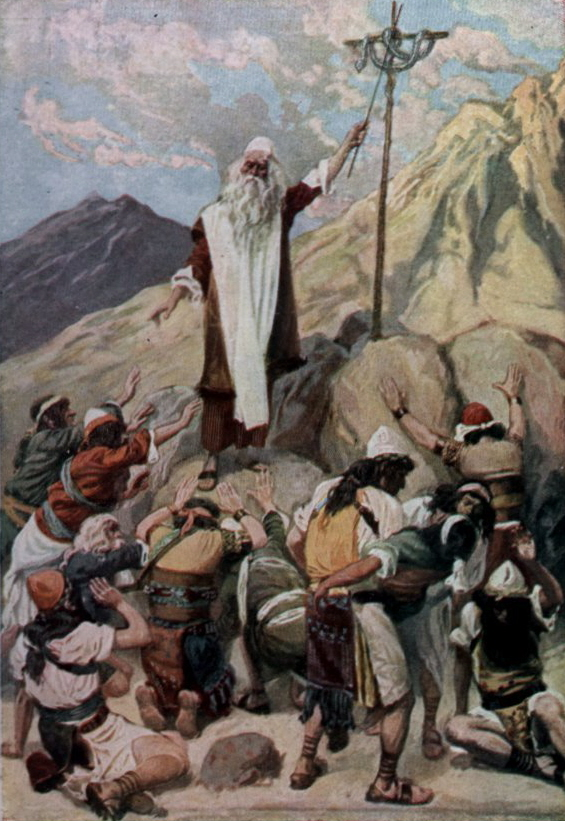 The Brazen Serpent (painting by James Tissot)