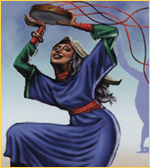 Miriam  (Moses & Aaron's sister) a Prophetess_(Ex. 15:20, 21)