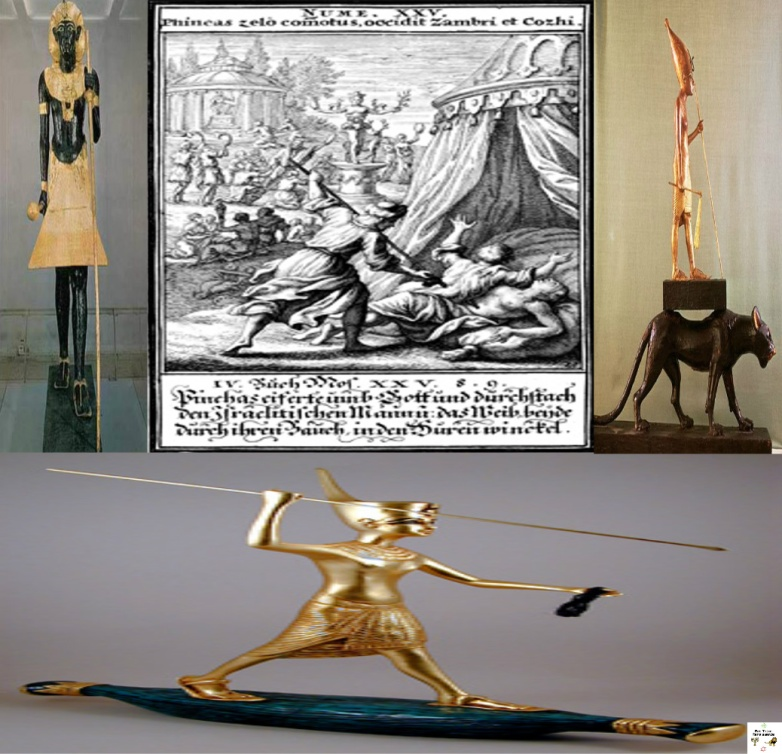 [Ancient] Egypt & Ethiopia; The Mirror of a Hamo-Shemitic culture: Phineas' Zealousy for God.