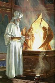priest in the holy of holies