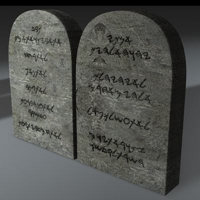 decalogue-stone tablets