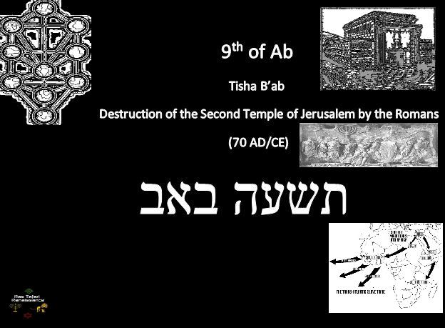 Tisha B'ab [RRR] 2013