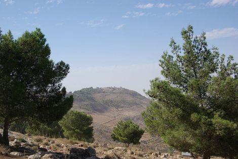 wezot habarakh'ah - parsha (Mount_Nebo)