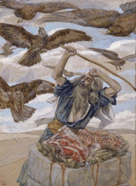 lech lecha - parsha [Tissot_Abram_Guarding_His_Sacrifice]