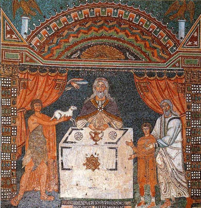 Santa Pollinare Mosaic - Order of Melchizedek