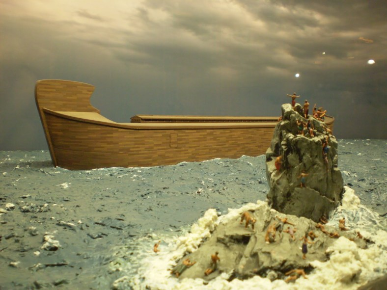 the theme of ancient flood in genesis of the torah and the epic of gilgamesh I will add that there are hundreds of extra-biblical great flood stories,  representing differing  there was a flood, and both the bible and the epic  record it as the.