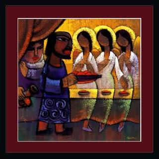 wayeira - parsha (Abraham and Three Angels)