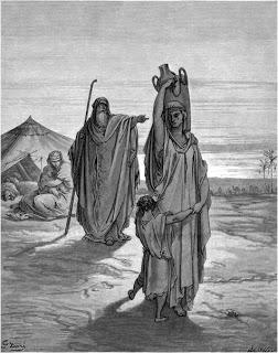 wayeira- parsha (Abraham sending Hagar and Ishmael away)
