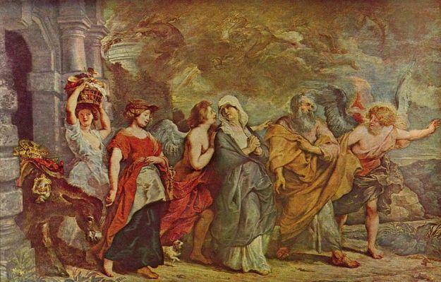 Flight of Lot from Sodom & Gomorrah