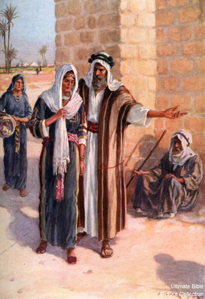 Abraham & Sarah go to see Abimelech