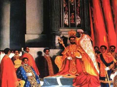 Coronation image _ painting by Afework Tekle