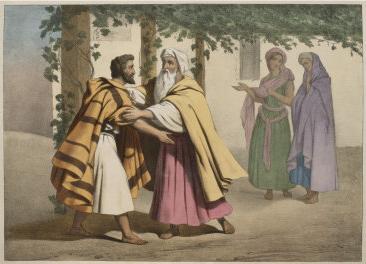 Jacob & Laban (the Syrian/Aramaen)