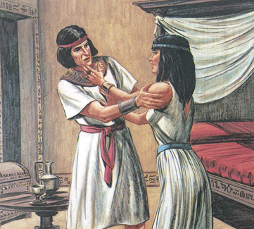 Joseph resist Potiphar's wife