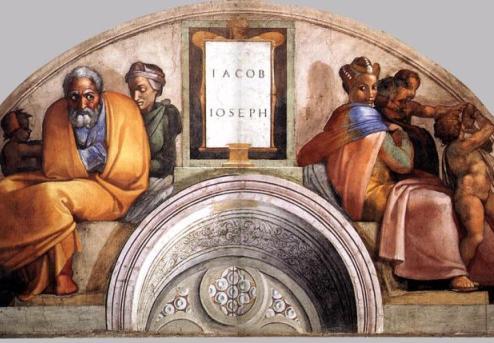 wayetze - parsha [Sistine_Chapel_Jacob_and_Rachel]