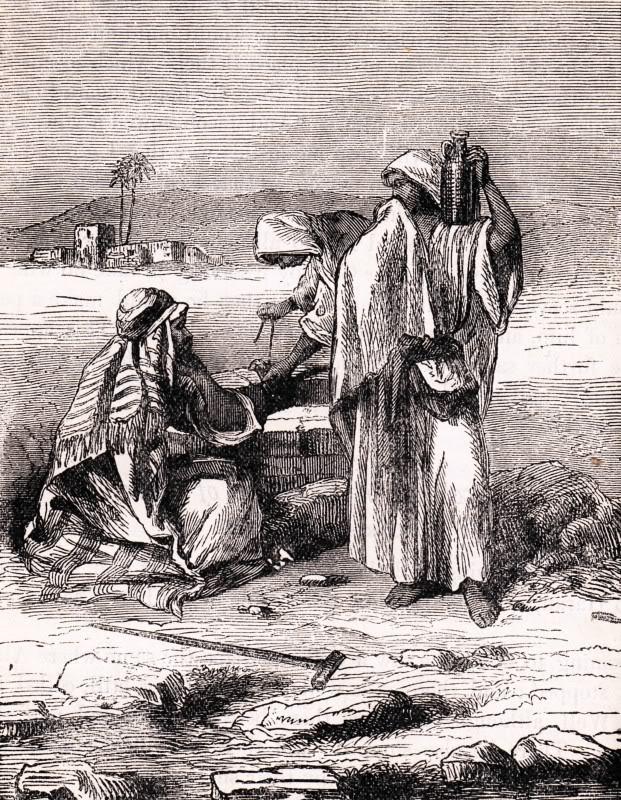 wayishlach - parsha [jacob - well and altar at shalem_el elohe ysrael]