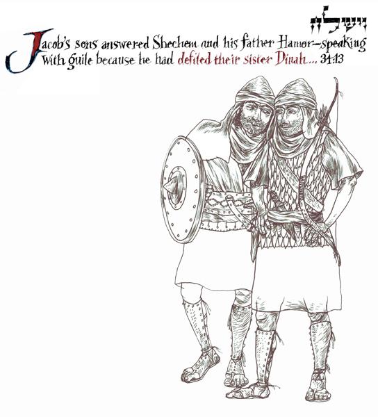 wayishlech - parsha [simeon-and-levi-slay-the-shechemites]