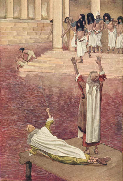 waera - parsha (JamesTissot[Water_Is_Changed_into_Blood])