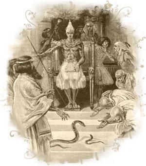 waera - parsha (rod-serpent)