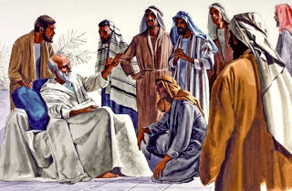 wayechi -parsha [Jacob's belessings to his sons before his death in Egypt]