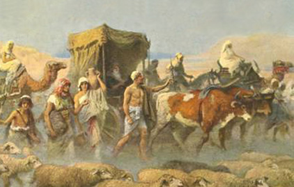 Jacob(Israel) Goes Into Egypt