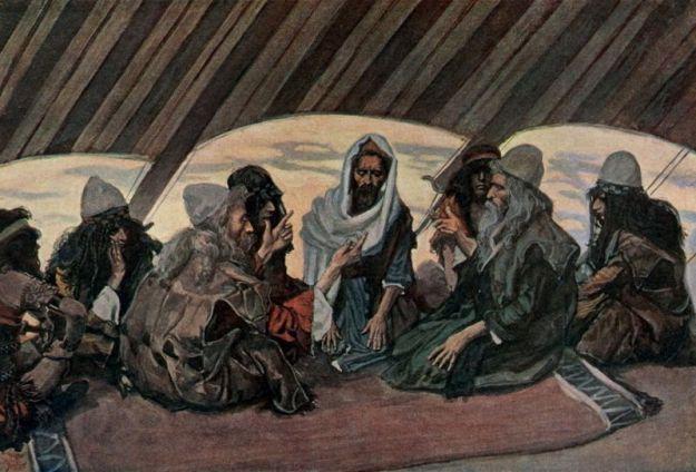 Jethro & Moses _ by James J. Tissot