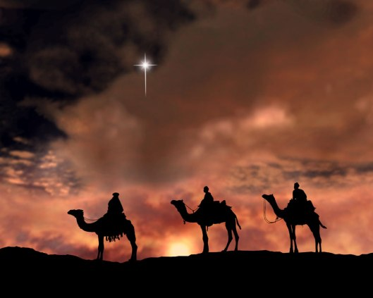 star from the east - wise kings from the east (Star of Bethlehem)
