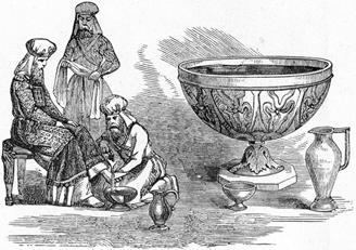 ki tissa - parsha (priests water basin)