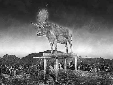 ki tissa - parsha (the calf of gold)