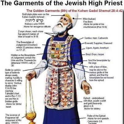 priestly garments _ (kohen-kahin)