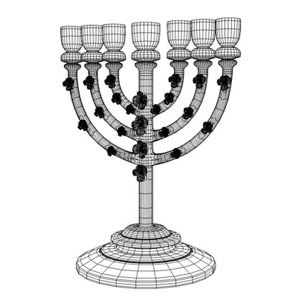 Menorah/Lampstand (candlestick) [Ex. 25: 31-40]