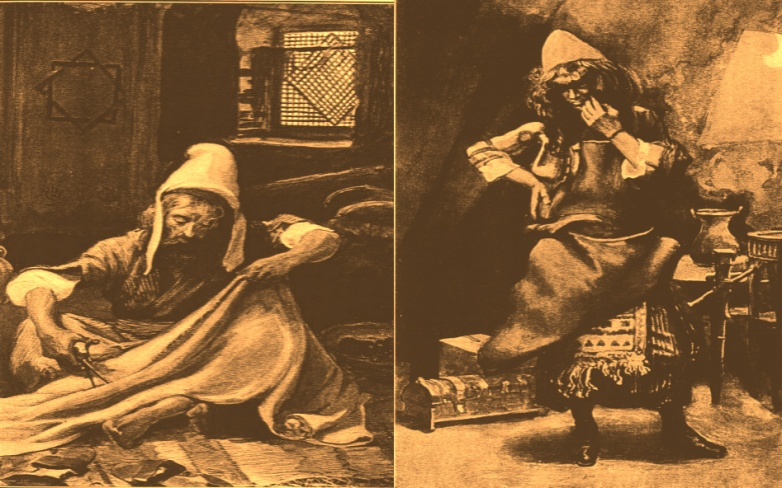Aholiab & Betza'leel : skilled craftsmen of Israel