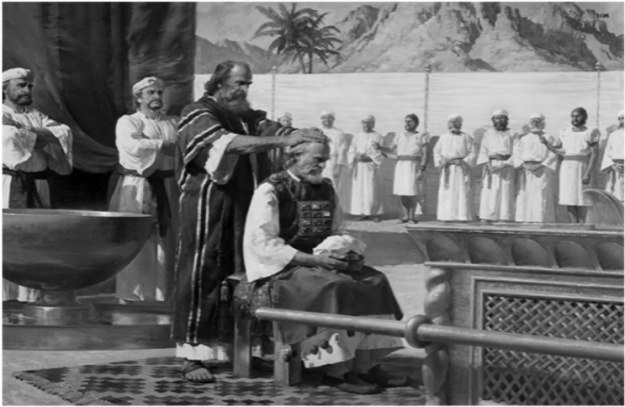 ki tissa- parsha (anointing the priesthood)