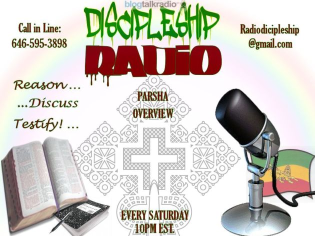 LOJS-RTG Discipleship Radio (Sabbath Study shows) every Sat. at 10pm EST