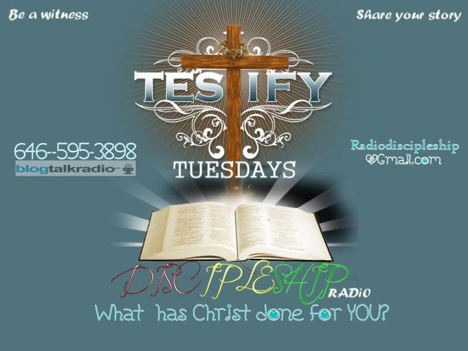 LOJS-RTG Discipleship Radio (Sabbath Study shows) every Tue