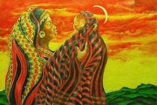 Mother & Child _ Kalinga Rastaman