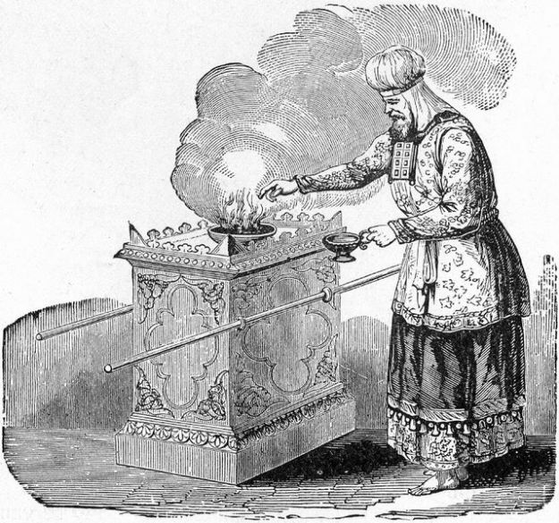 wayikra - parsha (High_Priest_Offering_Incense_on_the_Altar)