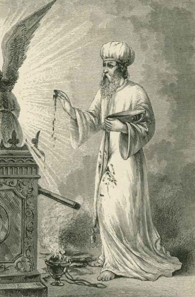 wayikra - parsha (sacrifice-high-priest-sprinkling-blood)
