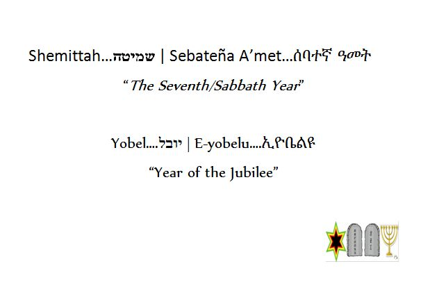 behar - parsha (sabbath and jubilee yrs)
