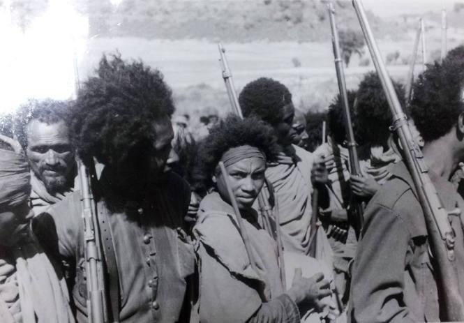 ethiopian patriots during italian invasion
