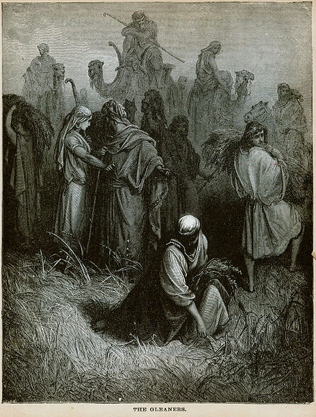 kedoshim - parsha [The Gleaners (engraving by Gustave Doré from the 1865 La Sainte Bible)]